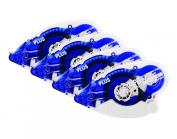 Plus Corporation Glue Tape Tg-610Bc, 22m of Adhesive, 4-Pack