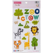 The Zoo Crew Chipboard Icons-