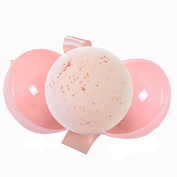Tyoungg 6 Pack Pink Colourful Plastic Bath Bomb Ball Moulds Round Two Pieces For Making DIY Homemade Bath Salt Bomb
