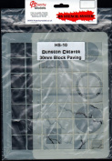 ANMHS0010 Anarchy Models HS Stencil System - #10 Dungeon Creator 30mm Block Paving