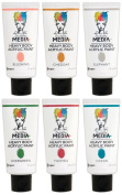 Ranger - Dina Wakley Media - Heavy Body Acrylic Paints - 2016 New Colours Bundle