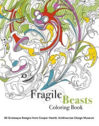 Fragile Beasts Colouring Book