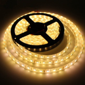 KPBOTL IP67 Waterproof Led Strip Light SMD 5050 Flexible Roll Tape DC12V 5M 300 LED Outdoor Underwater Decoration Warm White