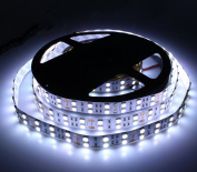 KPBOTL 5M 600Led Strip Light SMD 5050120led/M Doublr Row Fleixble Non-waterproof Ribbon Indoor Decoration White