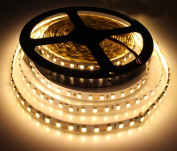 KPBOTL Led Strip SMD3528 120led/M Non-waterproof Flexible Light Led Tape 5M/roll Neon Indoor Decoration Lighting Backlight Warm White