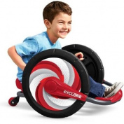 Radio Flyer Cyclone Ride-On, Capable of Doing 360-Degree Spins, Made of Solid Steel