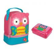 Stephen Joseph Girls Owl Lunch Pal and Snack Box