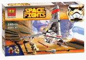 New 2016 246pcs Bela 10374 kit set AAT Star Space Wars The Force Awakens Building Blocks Bricks Toys Gifts Minifigures Battle T-16 Jump space fighter.
