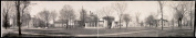 """c1909 View of Arch """"B"""", Oberlin, Ohio 110cm Vintage Panorama photo"""