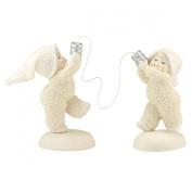 Snowbabies Classics Can You Hear Me Now. Figurine, 14cm