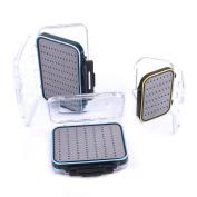 Maxcatch Two-sided Waterproof Fly Box Slit Foam/Easy Grip Foam Fly Fishing Box