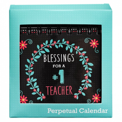 Perpetual Calendar: Blessings for a #1 Teacher
