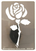 Hot Off The Press - Large Rose Stencils