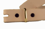 Solid Brass Belt Keeper 2.5cm - 1.3cm 1126-04