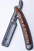 Revenge Is Sweet Razor Blade Biker [13cm ] Patch