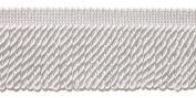 10 Yard Value Pack of White 6.4cm Bullion Fringe Trim, Style# EF25 Colour