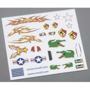 Revell RMXY9624 Pinewood Derby Dry Transfer Decals E