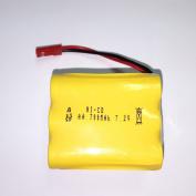 7.2V 700mAh Ni-cd Replacement Battery Part Compatible with Haktoys HAK104 RC Stunt Master Car