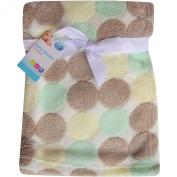 Super Soft & Fluffy Large Patterned Baby Blanket