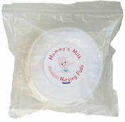 Bamboo Nursing Pads by Mummy's Milk 3-Layer Reusable Breast Washable Eco Organic Waterproof Breastfeeding