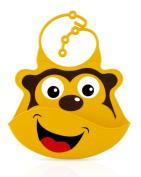 Nuby Roly Poly Monkey Bib
