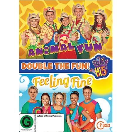 Hi-5 Animal Fun & Feeling Fine DVD