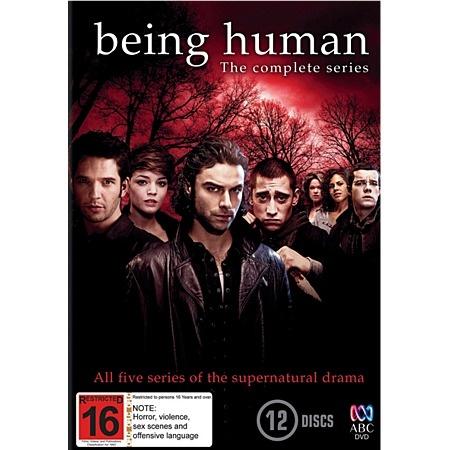 Being Human Season 1 to 5 Box Set DVD