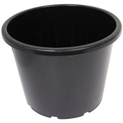 Interworld Recycled Resin Planter Pot Black 30L