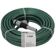 Just Brand Hose 15m with 4 Piece Fittings