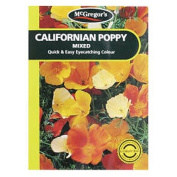 McGregor's Californian Poppy Mixed Flower Seeds