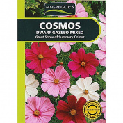 McGregor's Cosmos Gazebo Mixed Flower Seeds