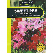 McGregor's Royal Sweet Pea Mixed Flower Seeds