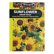 McGregor's Sunflower Dwarf Mixed Flower Seeds
