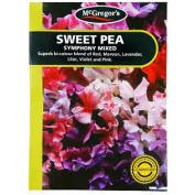 McGregor's Sweet Pea Symphony Mixed Flower Seeds