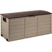 Starplast Foldable Garden Storage Box Mocha