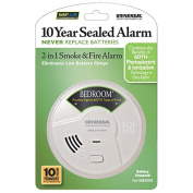 2-in-1 10 Year Sealed Smoke and Fire Alarm - Bedroom