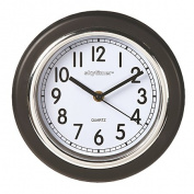 Essential Wall Clock Black 20.3cm