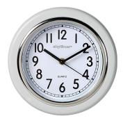 Essential Wall Clock White 20.3cm