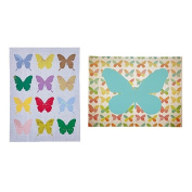 Home & You Canvas Art Butterfly Assorted 30cm x 40cm