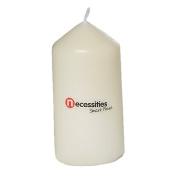 Necessities Brand Church Candle White 5 x 10cm