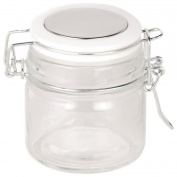 Living & Co Food Storage Mini Brights Cliptop White 100ml