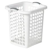 Taurus Laundry Hamper White 60L