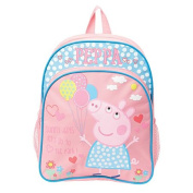 Peppa Pig Balloons Backpack Pink One Size