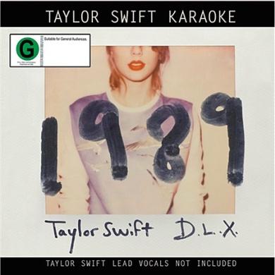 Taylor Swift Karaoke 1989 CD/DVD