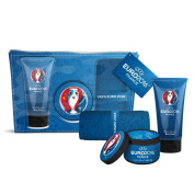 UEFA Euro 2016 Bodywash Hair Gel and Printed Flannel with Swing Tag Attached