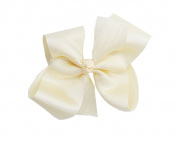 PrettyBoutique 13cm Girls Large Grosgrain Hair Bow Alligator Clip
