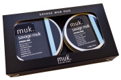 Savage Muk Duo Pack 1x 95g & 1x 50g Ultimate Hold Styling Clay