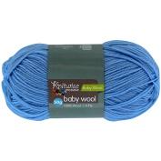 Knitwise Baby Yarn Wool 4-Ply Blue 50g