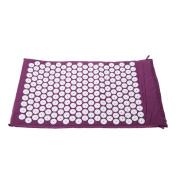 Anself Massager Cushion Yoga Bed Nails Mat for Acupressure Massage