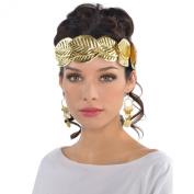 Adults Gold Roman Wreath Headband Fancy Dress Accessory